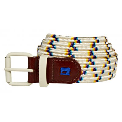 Leather Trimmed Elastic Belt (155567.217)