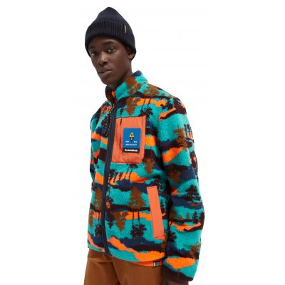 Colourful Reversible Fleece Jacket (158817.0217)