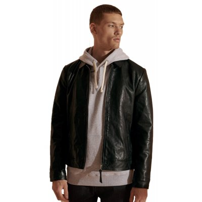 Indie Coach Leather Jacket (SD0APM5010409A000000.02A)
