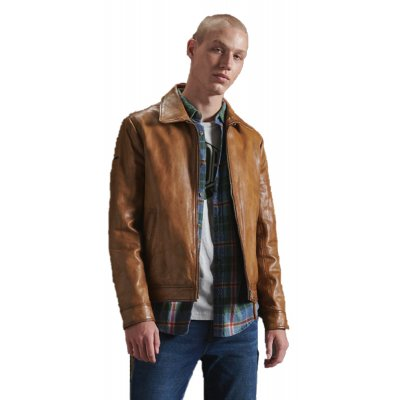 Indie Coach Leather Jacket (SD0APM5010409A000000.DUV)