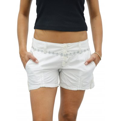 Women's White Playmate Shorts (S8633SHO.WH)